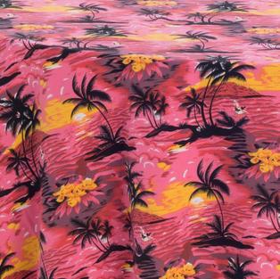Caribbean Sunset Prints Overlay