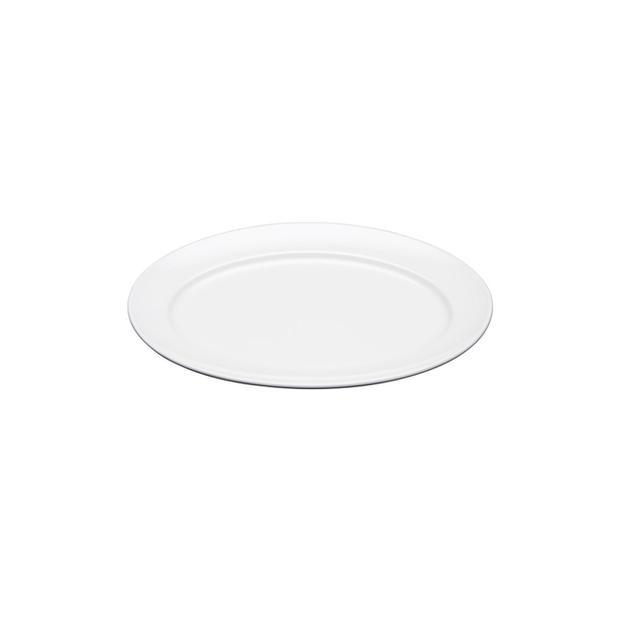 China White Oval Platter