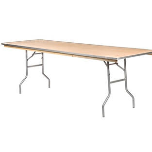 8' Standard Wooden Table