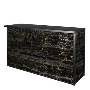 Maxim Bar, Black/Gold Marble