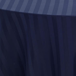 Navy Blue Imperial Stripe