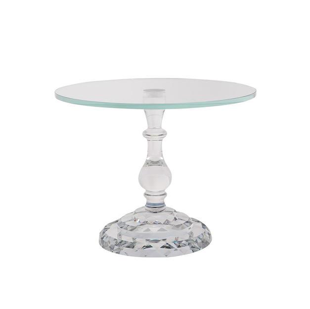 Crystal Single Dessert Stand