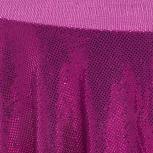 Hot Pink 3M Sequins Overlay