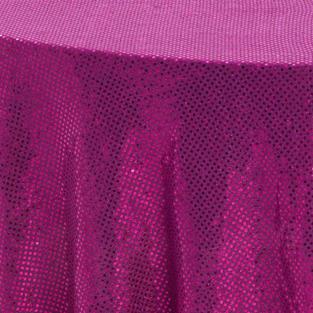 Hot Pink 3M Sequins Overlay