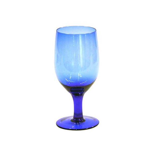 Cobalt Blue Goblet