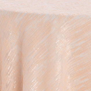 Blush Laser Cut Textured Sheer