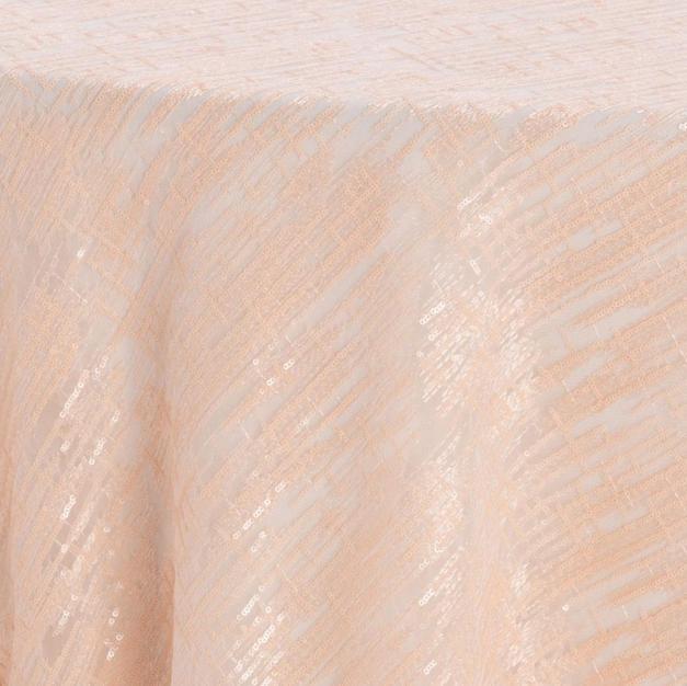 Blush Laser Cut Textured Sheer