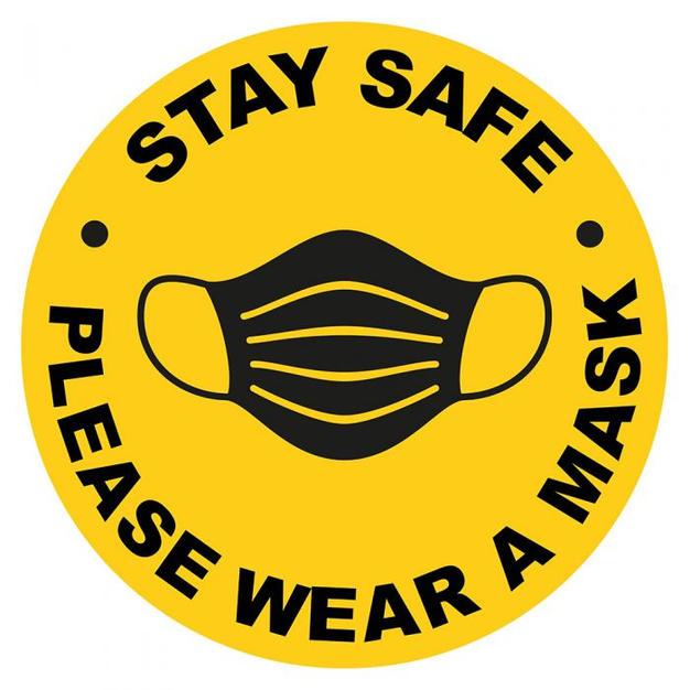 Please Wear A Mask Decal