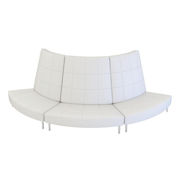 Endless Small Curve High Back Sofa