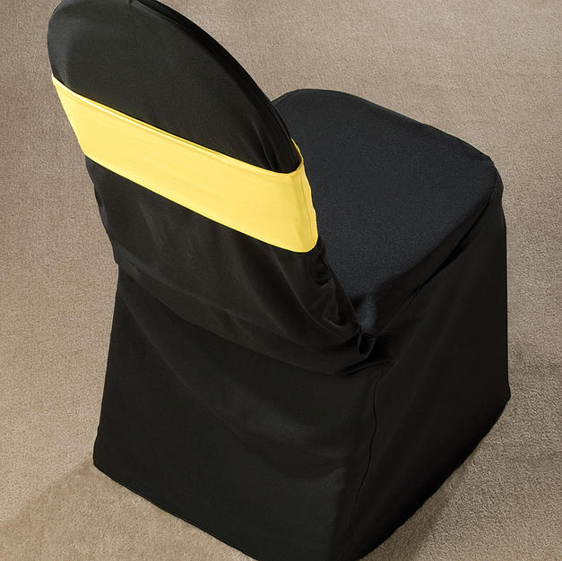 Yellow Spandex Chair Band