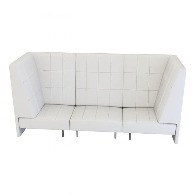 Endless High Back Sofa w/ Arms