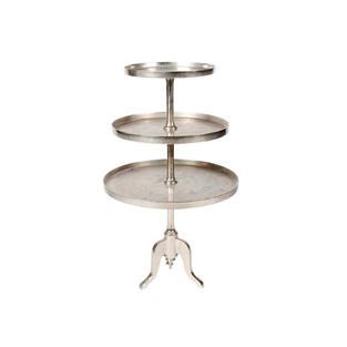53″ Silver Dessert Stand – 3 Tiers