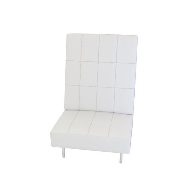 Endless Square High Back Chair