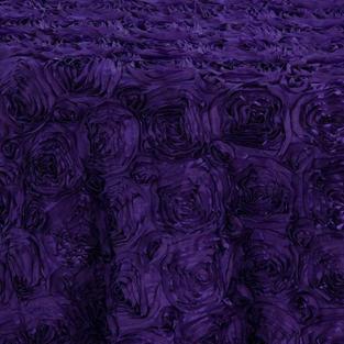 Grape Flower Taffeta