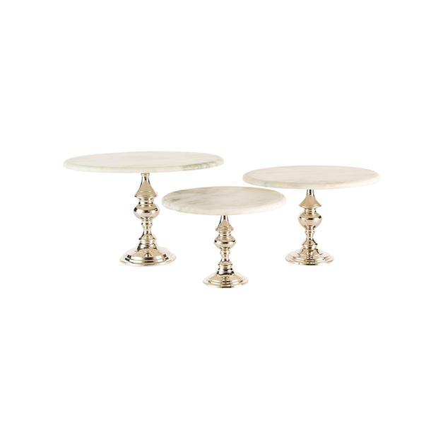 Round Marble Cake Stands