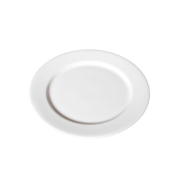 Round White Porcelain Charger