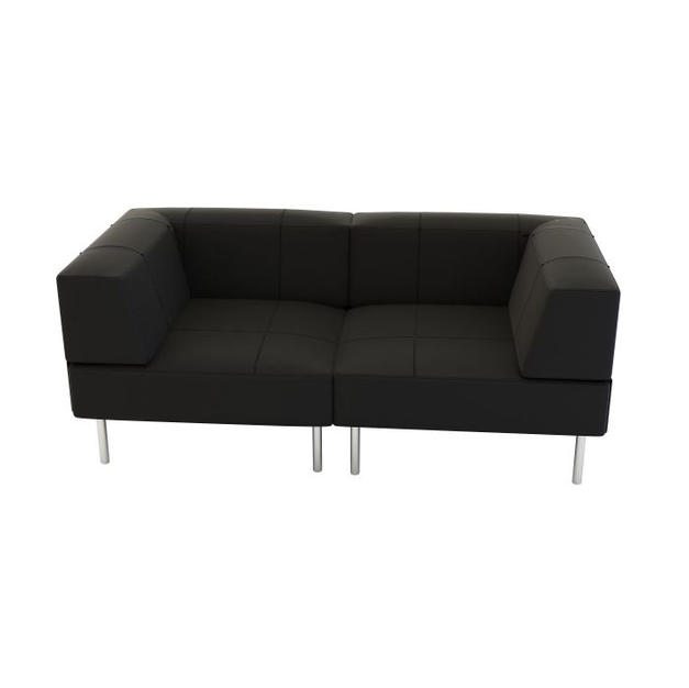 Endless Low Back Loveseat w/ Arms
