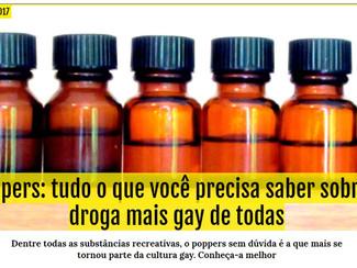 Poppers: tudo o que você precisa saber sobre a droga mais gay de todas.