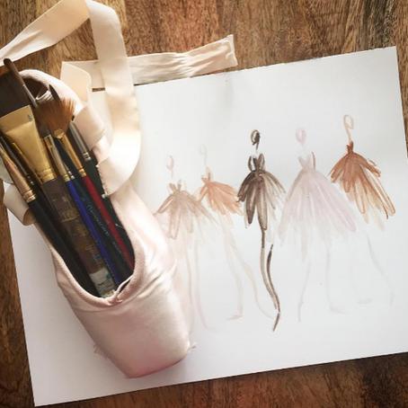 Ballet no papel: Ilustradores incríveis para seguir no instagram!