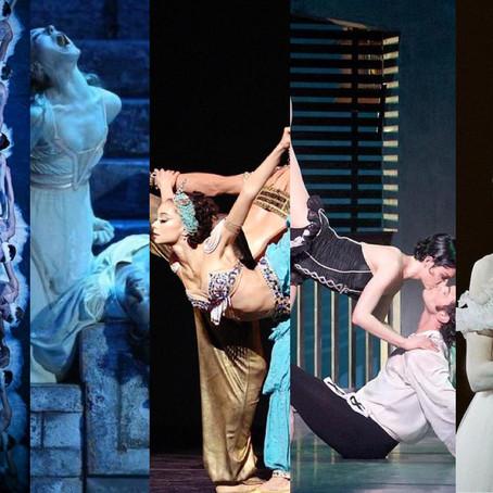 Diferentes linhas coreográficas