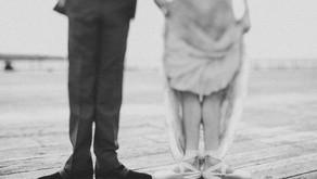"""True Pas de Deux  - Casamento de bailarinos com inspiração """"Vintage Ballet""""."""