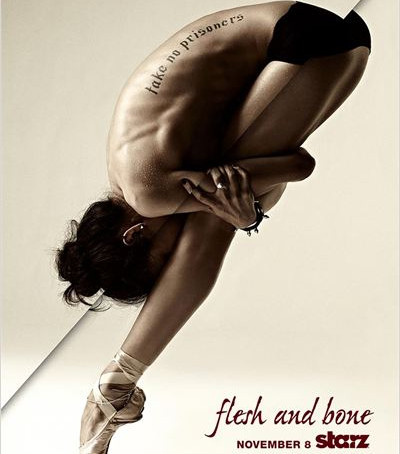 """FLESH AND BONE A nova série da Starz que promete """"arrancar os band-aids do mundo do ballet """""""