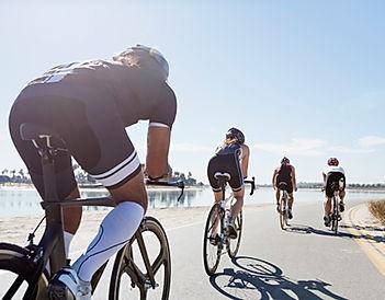 Groep Road Bikers