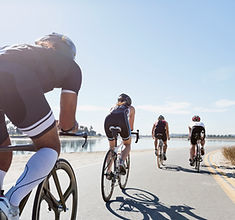 image of bicyclists for sports medicine