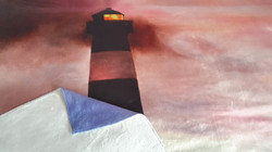Tranoy lighthouse velour fleece