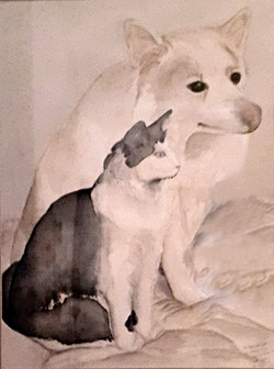 What's Outside? Watercolor