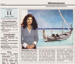 Newspaper Nautilus Wilhelmshaven