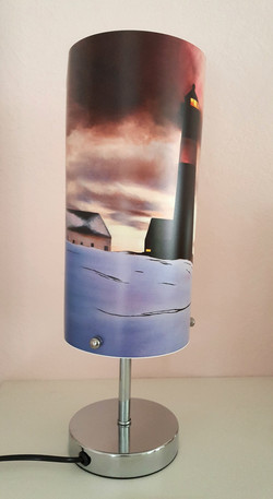 Lamp Tranoy lighthouse front + sid
