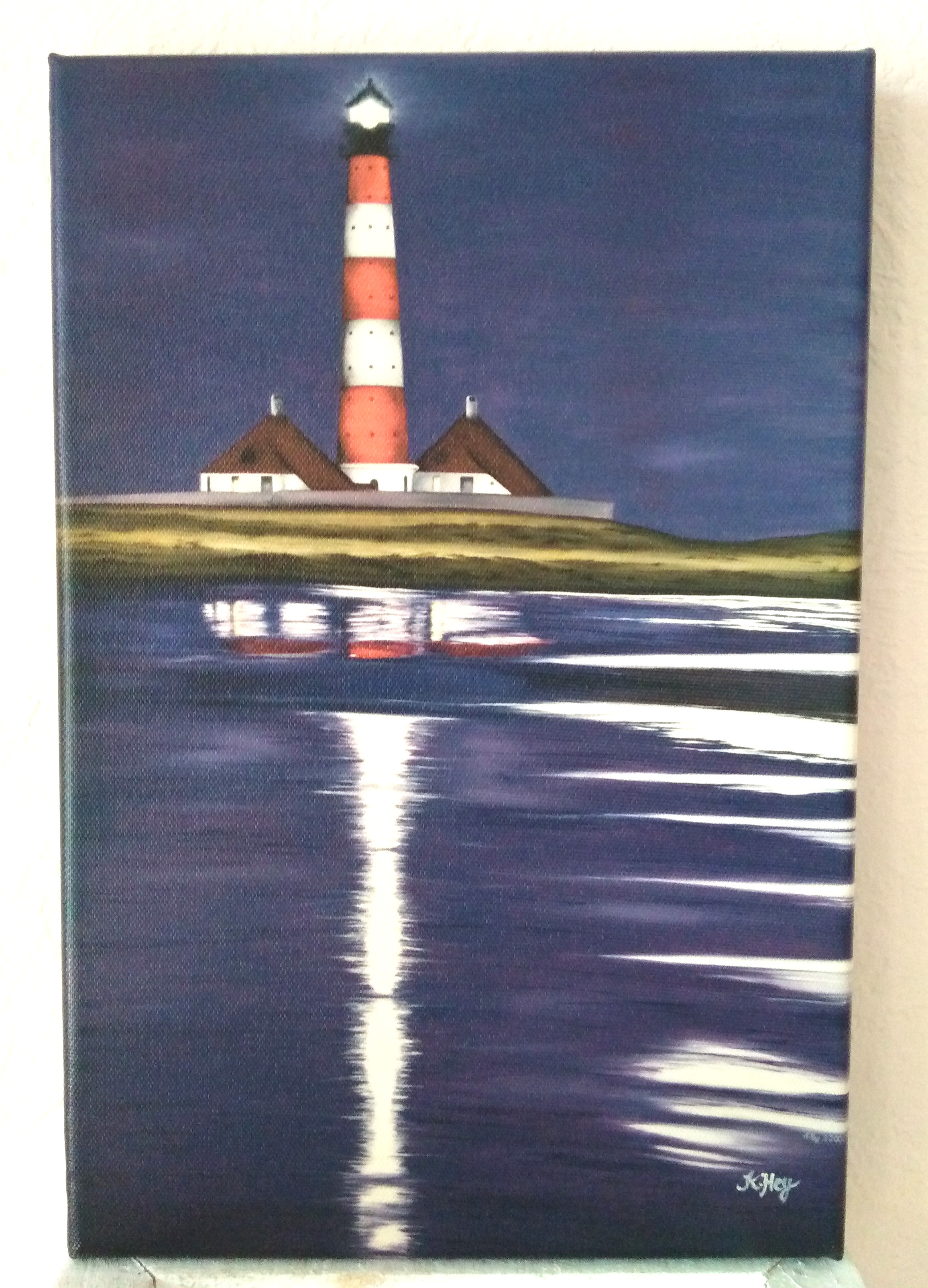 Lighthouse Westerheversand mini