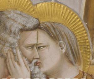 Il particolare dell'effetto trasparenza voluto da Giotto