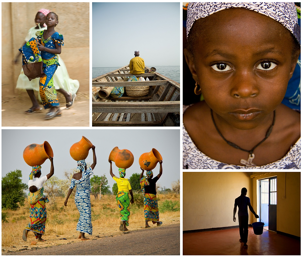 "Some shots from the photo exhibition ""From the Heart of Africa"" (c) Stefania Boiano"