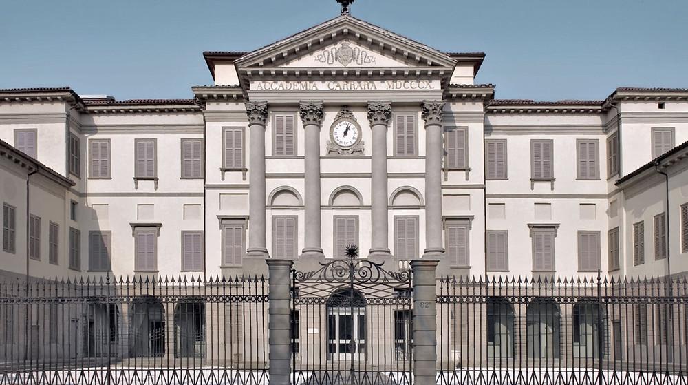 The Accademia Carrara in Bergamo