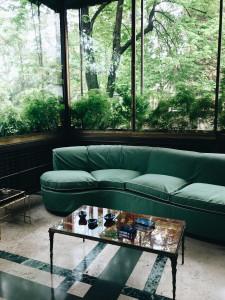 Villa Necchi Campiglio- veranda