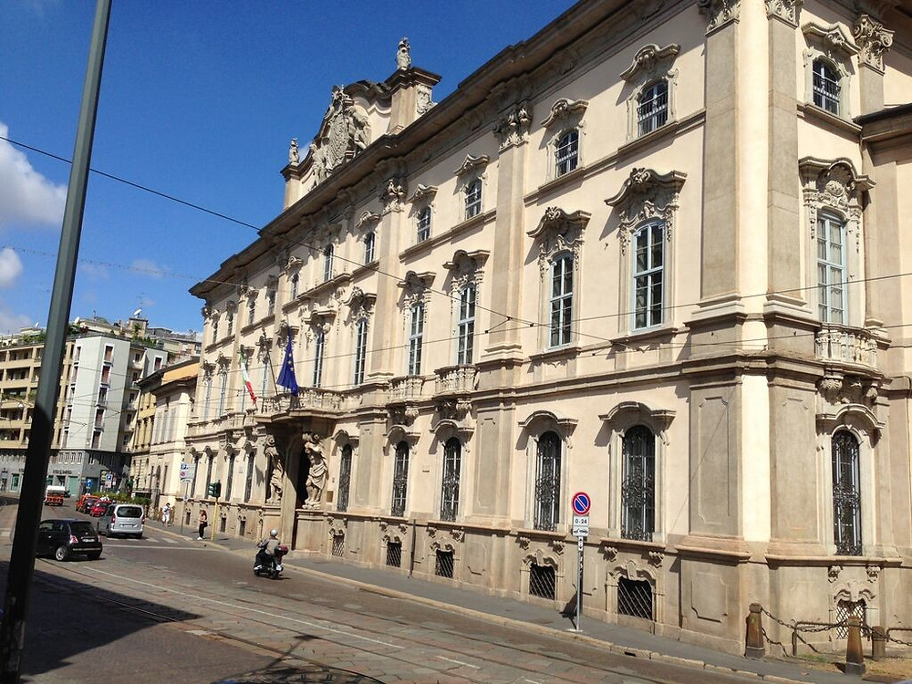 palazzo Litta a Milano