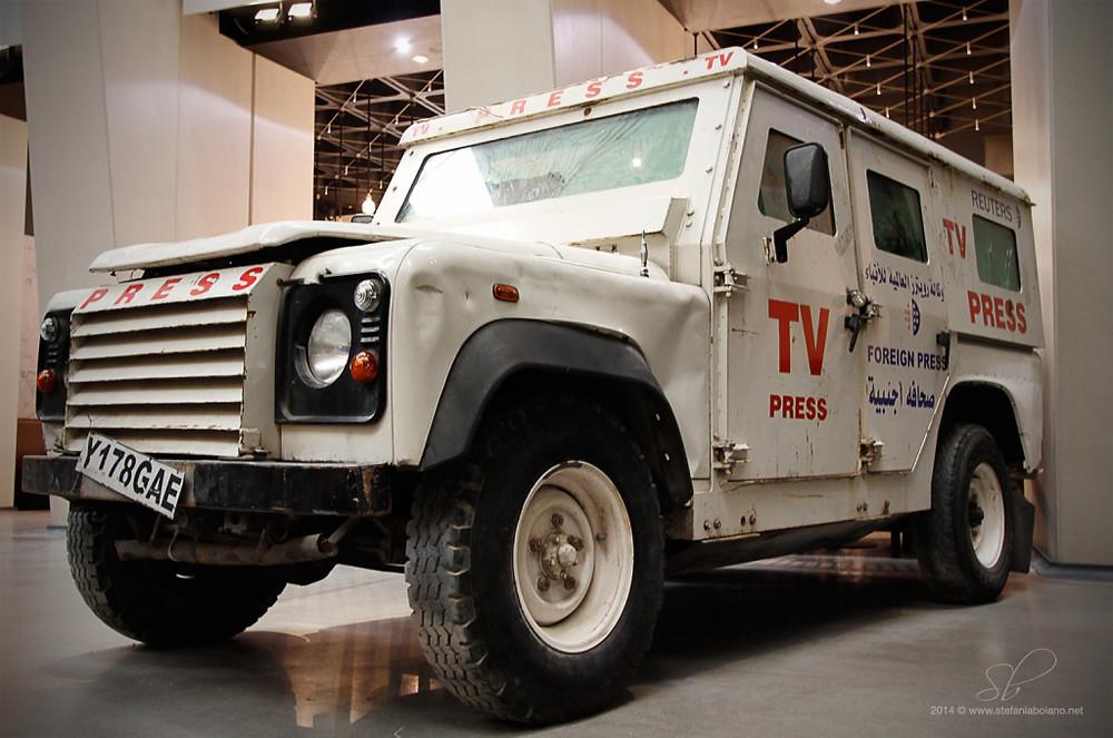 Reuters Jeep - Imperial War Museum London