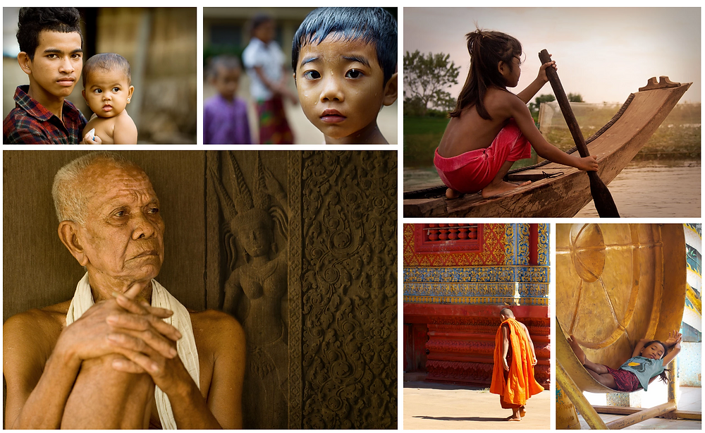 Some stills from the Cambodia Exhibition by Stefania Boiano