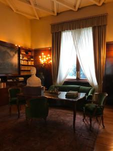 Villa Necchi Campiglio- Biblioteca