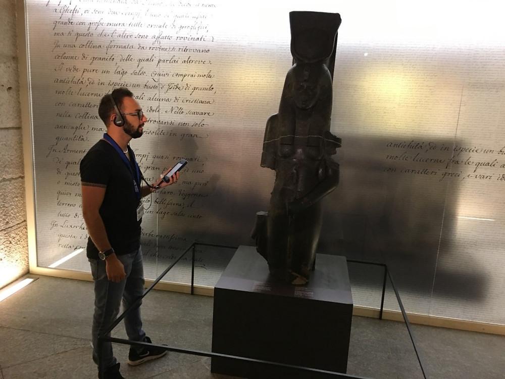 immersione al Museo Egizio