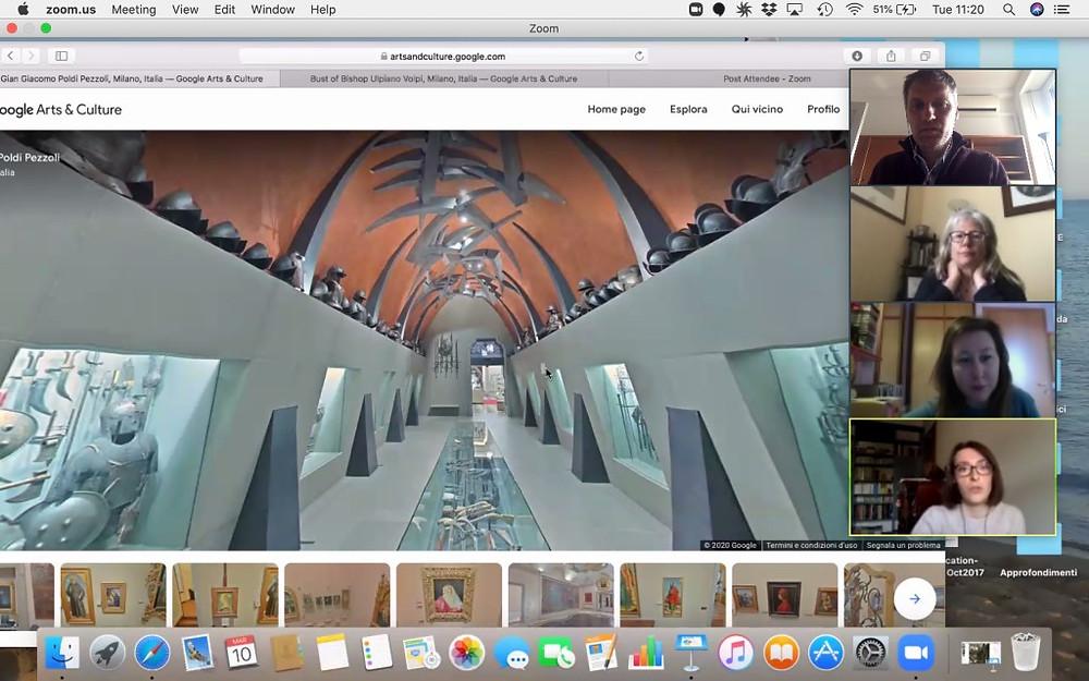 Visita virtuale al Museo Poldi Pezzoli