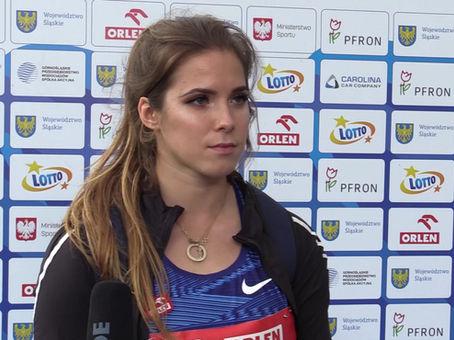 Maria Andrejczyk: Cieszę się, że jesteśmy zdrowe i możemy razem rywalizować