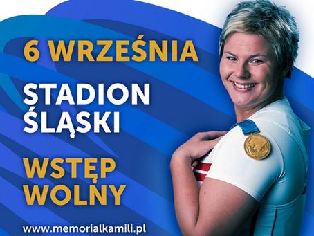 W niedzielę 6 września na Stadionie Śląskim w Chorzowie odbędzie się Memoriał Kamili Skolimowskiej.