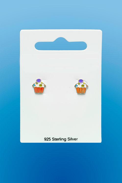 Oorbellen 'Cupcake'