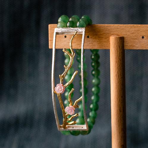 Armband 'CHERRY BLOSSOM FLOWER'