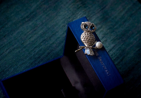 Broche 'Owl'