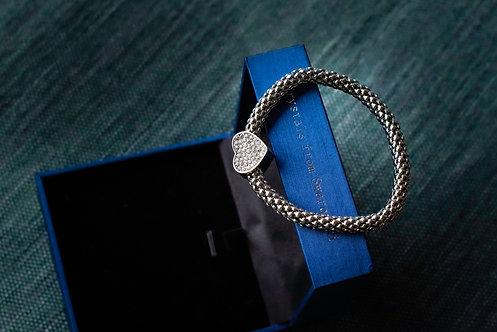 Armband 'Silver Heart'