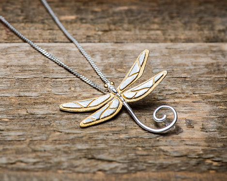 Ketting 'CUTE DRAGONFLY'